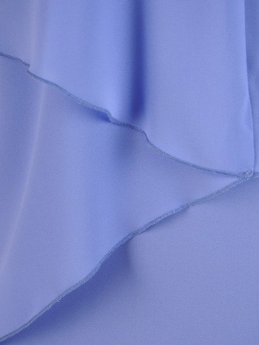 Sukienka damska, pastelowa kreacja z ozdobnym dekoltem 26678