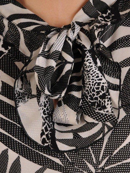 Sukienka damska, wiosenna kreacja z modnymi falbanami 25393