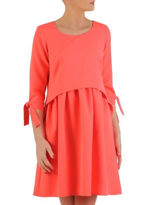 Sukienka damska, wizytowa kreacja w luźnym fasonie 29159