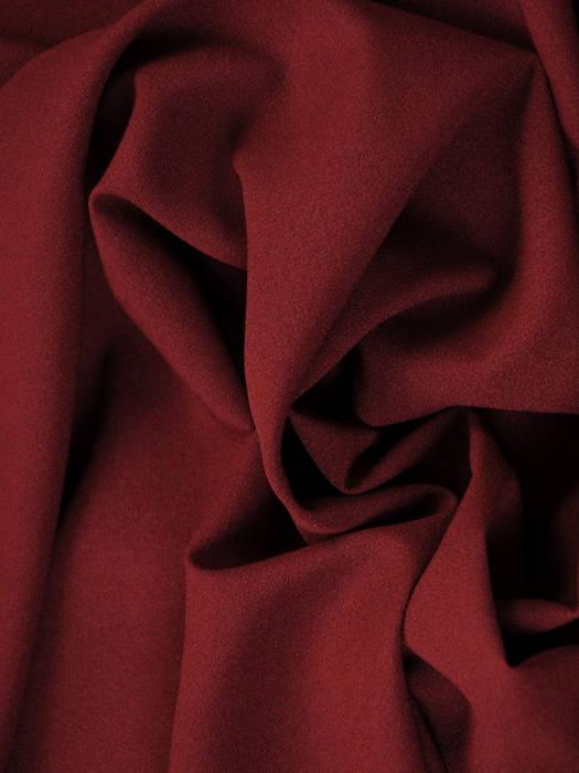 Sukienka koktajlowa maksi, bordowa kreacja z koronkową górą 30728