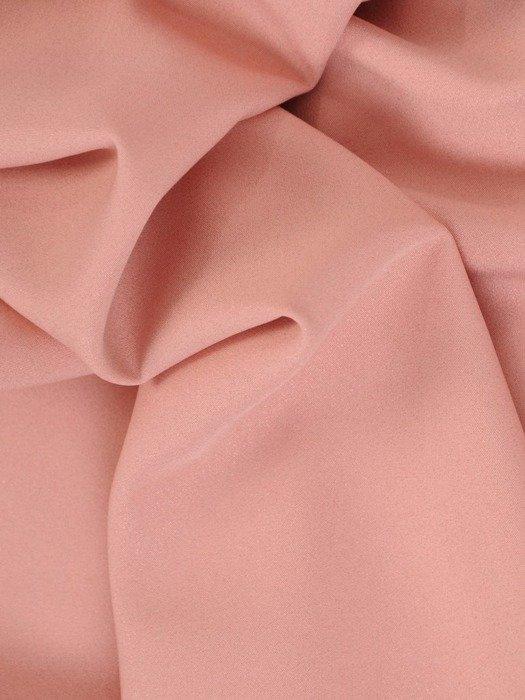 Sukienka koktajlowa, pastelowa kreacja w luźnym fasonie 26819