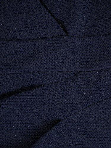 Sukienka kopertowa Patrycja, dzianinowa kreacja odcinana pod biustem.