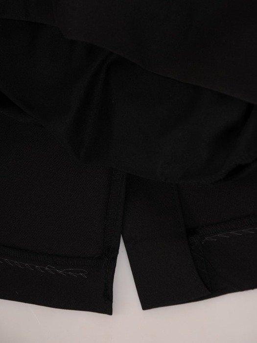 Sukienka kopertowa, wyszczuplająca kreacja z tkaniny 24579