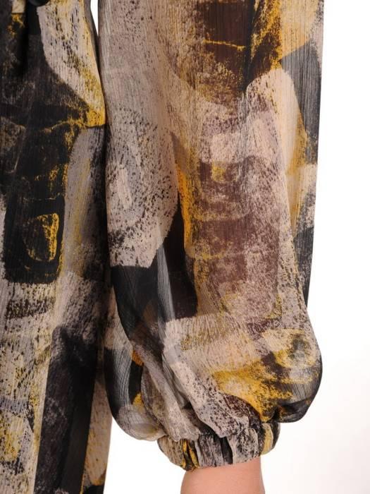 Sukienka kopertowa, zwiewna kreacja w kwiaty 27132