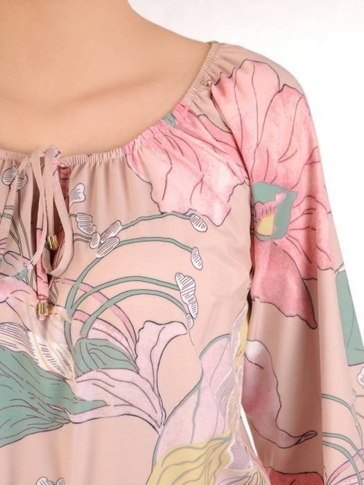 Sukienka maxi, elegancka kreacja z rozcięciem 29935