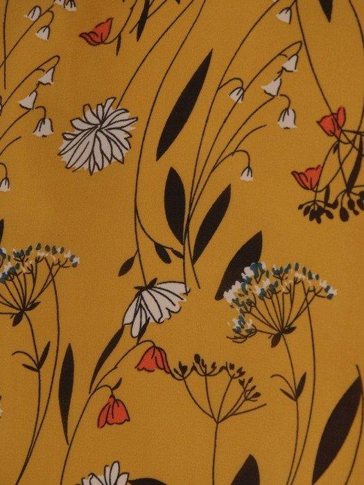 Sukienka o trapezowym kroju, kreacja z falbanami 25318