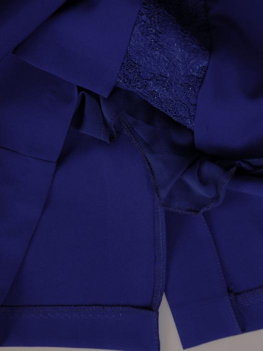 Sukienka wyjściowa, elegancka kreacja w chabrowym kolorze 20507.