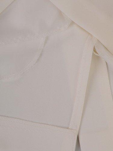 Sukienka wyszczuplająca 2w1 16623, prosta kreacja z szyfonową narzutką.