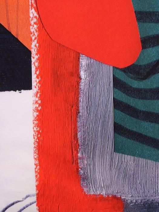 Sukienka z bawełny, prosta kreacja w kolorowe wzory 30082