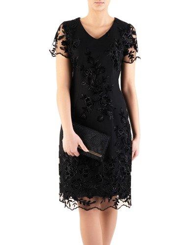 Sukienka z koronki Arleta XIII, elegancka kreacja wieczorowa.