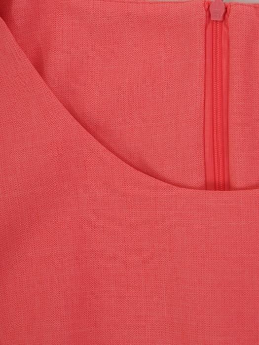 Sukienka z lnu, luźna kreacja na lato 26425