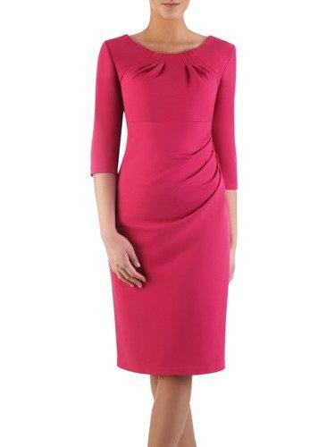 Sukienka z marszczeniami maskującymi brzuch Margot I.