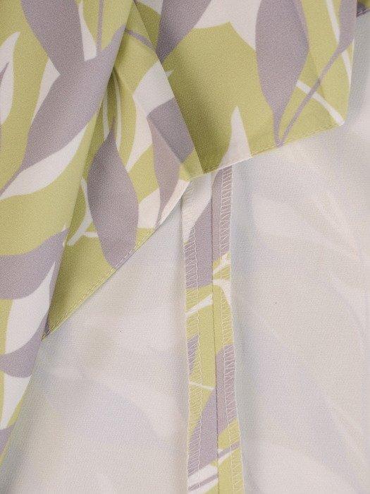 Sukienka z suwakiem, modna kreacja w wiosennej kolorystyce 20309.
