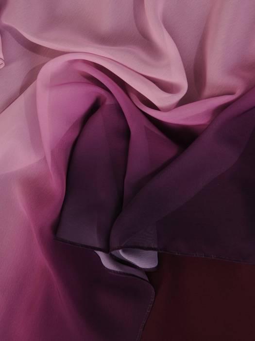 Szyfonowa, cieniowana sukienka maskująca niedoskonałości 30104