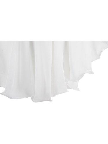 Szyfonowa sukienka wyjściowa Irma III, rozkloszowana kreacja na wesele.