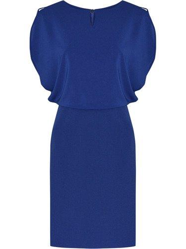 Weselna sukienka w nowoczesnym fasonie Afrodyta I, kreacja maskująca brzuch