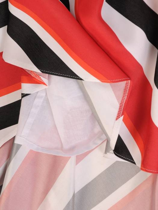 Wizytowa sukienka z tkaniny, wyszczuplająca kreacja 29299