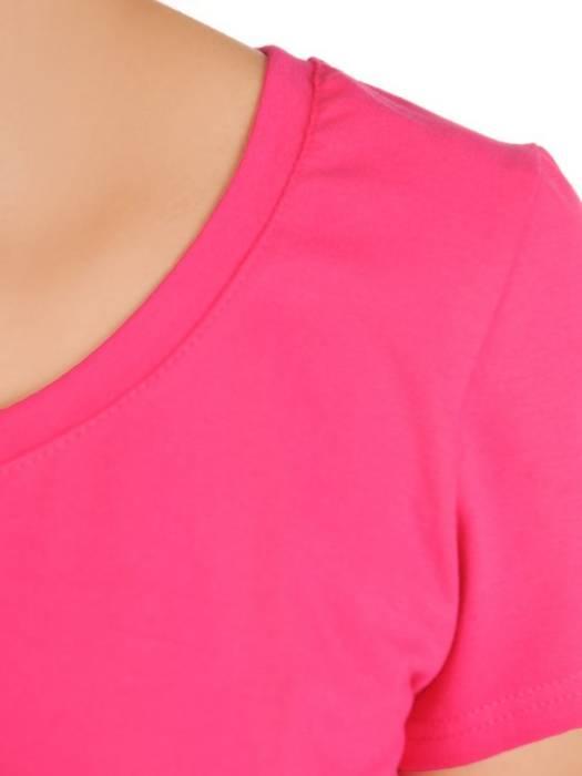 Wygodny komplet z dzianiny, T-shirt i spódnica 30155