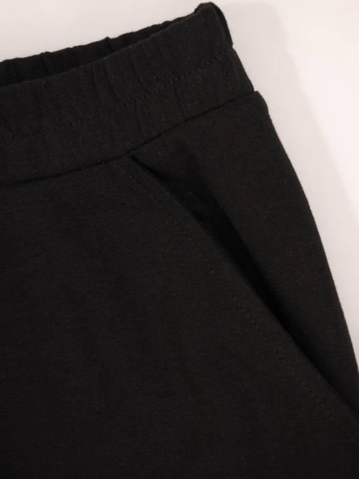 Wygodny komplet z dzianiny, T-shirt i spódnica 30156