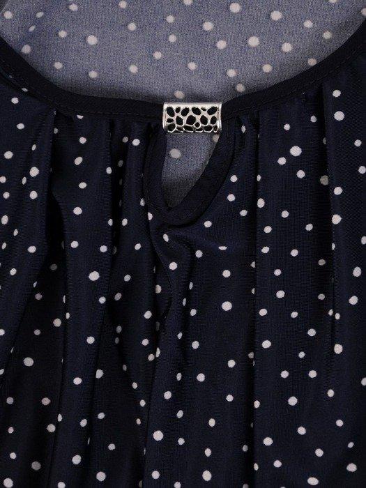 Wyszczuplająca bluzka z dzianiny 26197