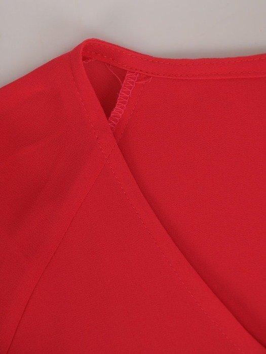 Wyszczuplający komplet damski, luźna tunika ze spodniami w kant 24523
