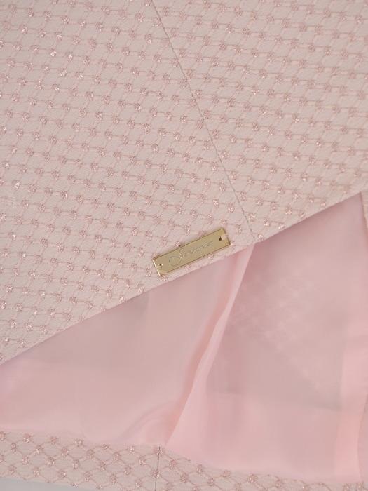 Żakiet z eleganckiej tkaniny żakardowej 20055.
