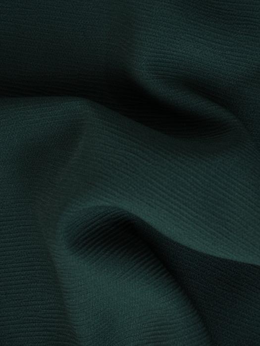 Zielony komplet z ozdobnymi, metalowymi suwakami  22139.