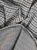 Bawełniana sukienka z zamkiem, rozkloszowana kreacja z kieszeniami 30537