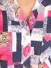Bluzka damska z guzikami na dekolcie 30982