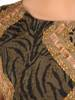 Komplet damski z szyfonową, asymetryczną narzutką 29774