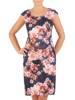 Kostium z żakietem, sukienka w modnym wzorze 27181