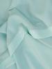 Miętowa sukienka z szyfonu, zwiewna kreacja z falbanami 30691