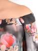 Oryginalna bluzka, tunika z gumką przy dekolcie 29494