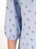 Oryginalna bluzka, tunika z gumką przy dekolcie 29512