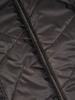 Pikowana kurtka damska na jesień w czarnym kolorze 30800