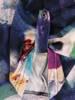 Prosta, dzianinowa tunika damska o ciekawym wzorze 27196