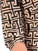 Prosta, dzianinowa tunika damska o ciekawym wzorze 29553