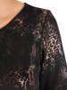 Prosta sukienka z ozdobnym złotym zamkiem, modna kreacja wyszczuplająca 27048