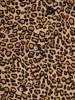 Rozkloszowana sukienka damska, kreacja w modną panterkę 27580