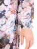 Rozkloszowana sukienka maxi, kopertowa kreacja z szyfonu 29993