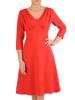 Sukienka damska podkreślająca biust w kolorze czerwonym 29166