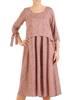 Sukienka damska, wizytowa kreacja w luźnym fasonie 28949