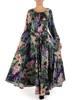 Sukienka maxi, elegancka kreacja z rozcięciem 27675
