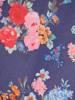 Sukienka w kwiaty z ozdobnymi falbanami 29840