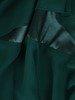 Sukienka wyjściowa, luźna kreacja z szyfonu 25610
