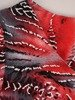 Sukienka z dzianiny, prosta kreacja w oryginalnym wzorze 26212