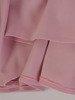 Sukienka z kopertowym dekoltem, rozkloszowana kreacja z dzianiny 22871