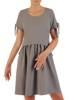Sukienka z lnu, luźna kreacja na lato 26433