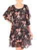 Sukienka z szyfonu, kreacja w luźnym fasonie 29054