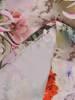Sukienka z tkaniny, prosta kreacja w oryginalnym wzorze 26489